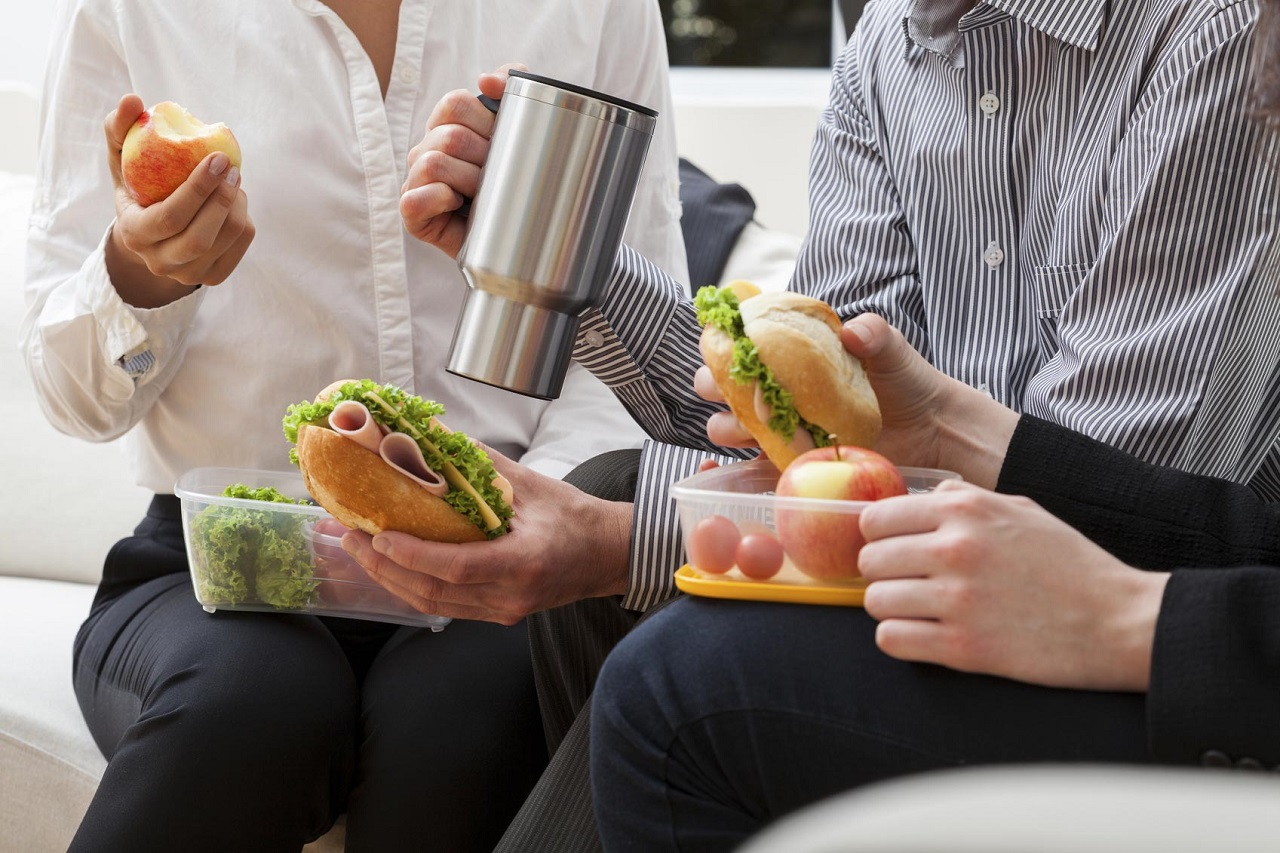Здоровое питание на работе