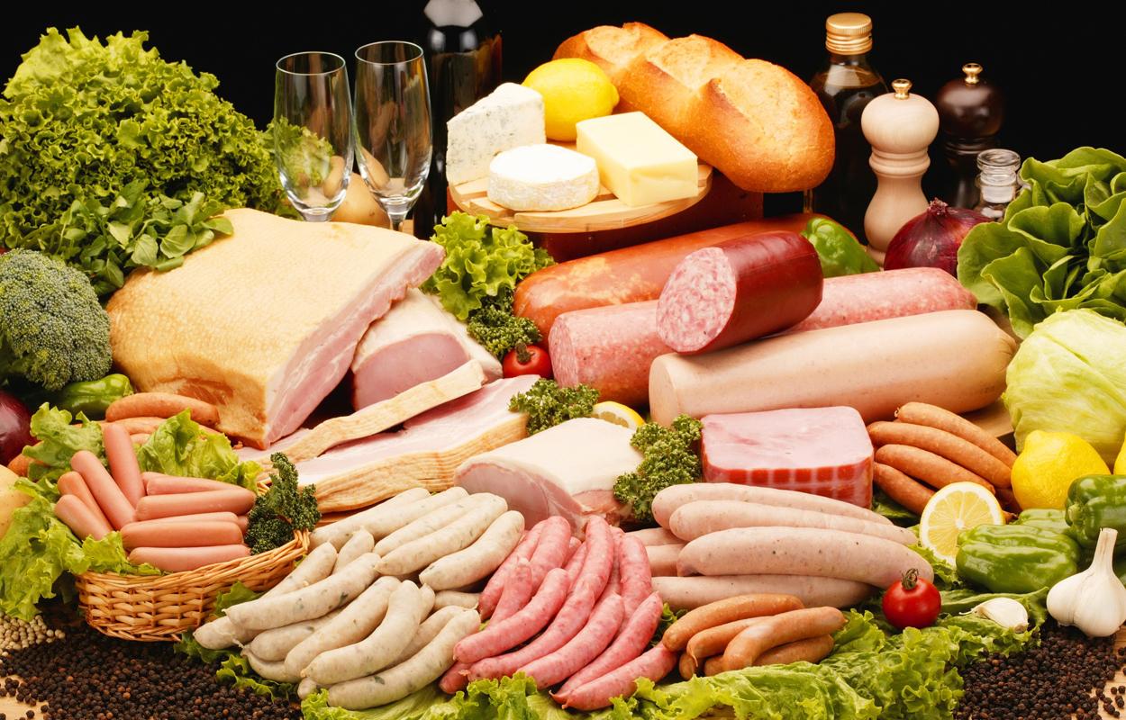 Продукты питания с холестерином