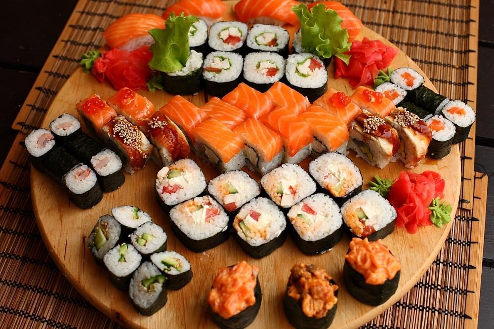 Суши и правильное питание