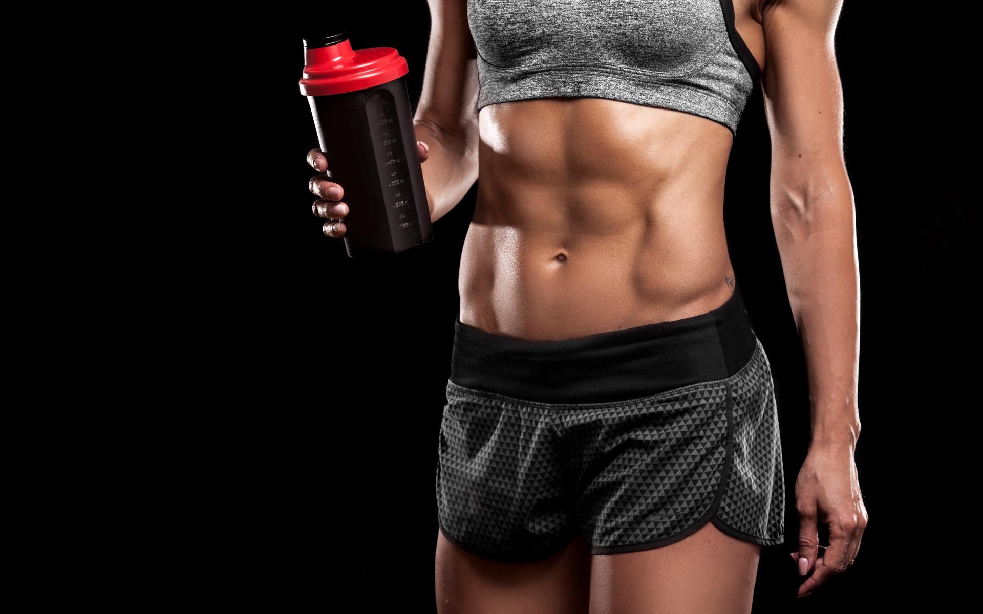 Спортивная диета для девушек