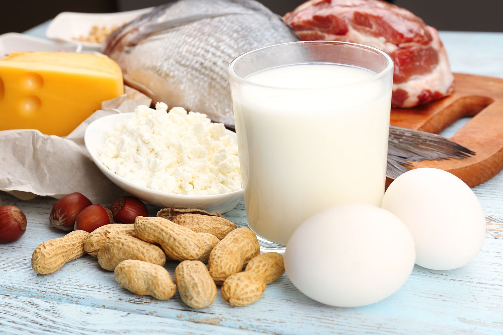 Молочные продукты в диетах