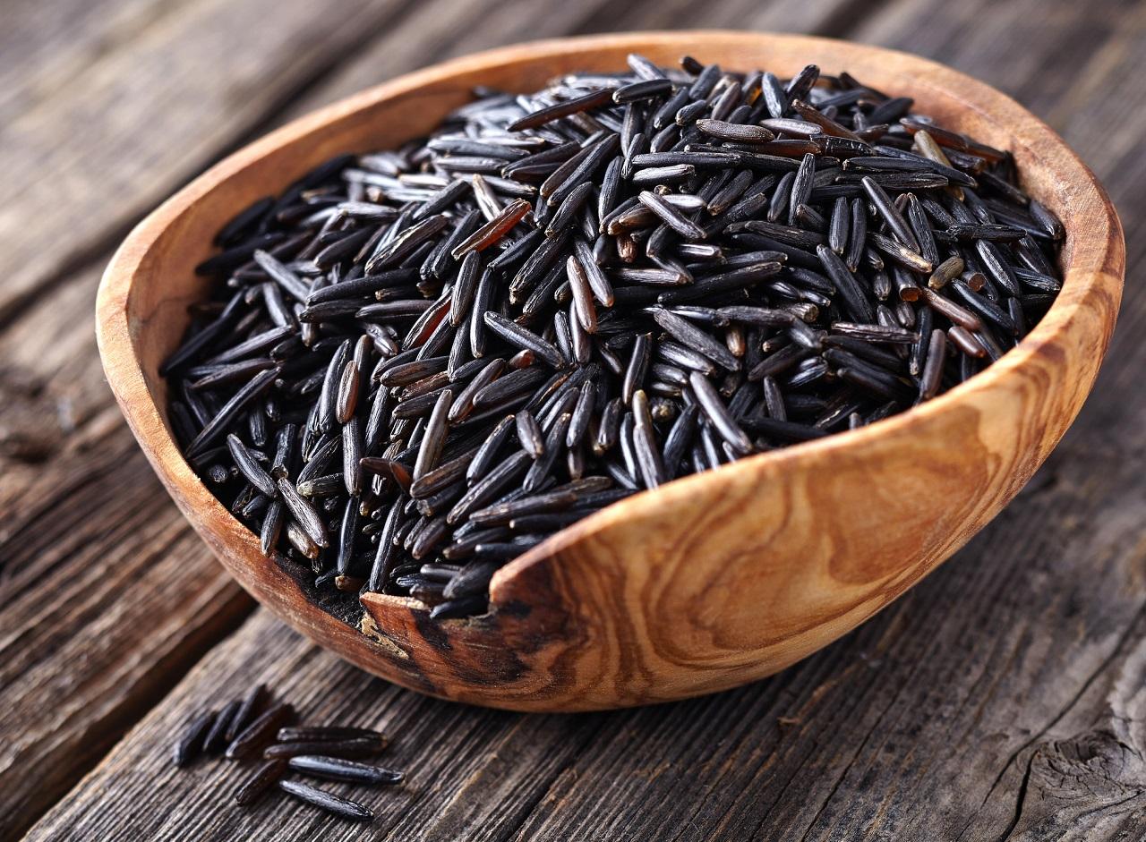 Польза черного риса
