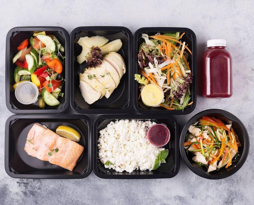 Правильное питание на неделю в контейнерах